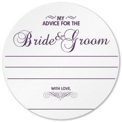 Wedding Advice Coaster