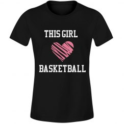 This girl loves basketbal