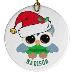 Cute Christmas Owl