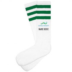 Knee High Camp Kesem Socks