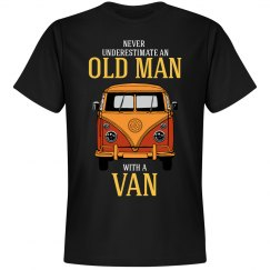 Never underestimate an old man with a van
