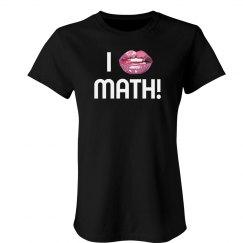 She Really Likes Math