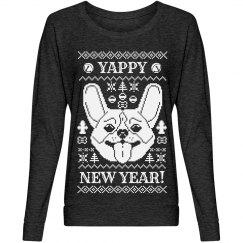 Yappy New Year Corgi