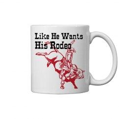 Rodeo Couples Mug 2