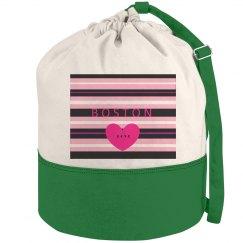 Boston Love Beach Bag