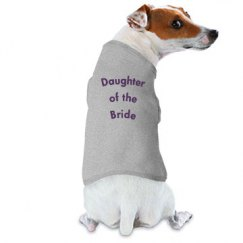 Doggy Wedding Shirt