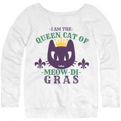 Queen Cat Of Mardi Gras