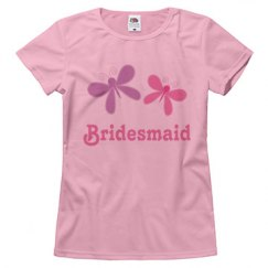 Bridesmaid butterfly