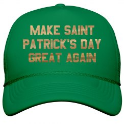 Green Make St. Pat's Great Again