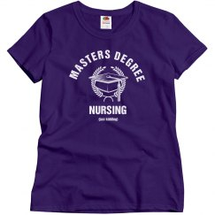 Masters degree in nursing