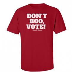 DON'T BOO, VOTE