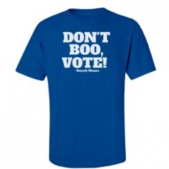 DON'T BOO, VOTE BLUE