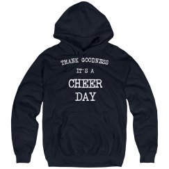 It's a cheer day