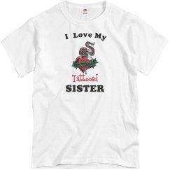 Love tattooed sister