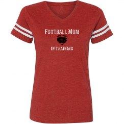 Football Mom in training