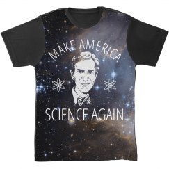make America Science All Over Print