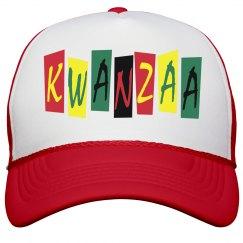 Kwanzaa Peak Cap