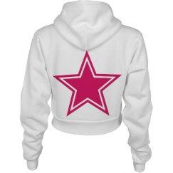 Star Hoodie Crop