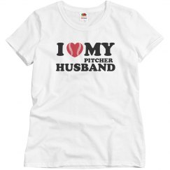 I love my pitcher husband