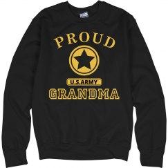 Proud U.S. Army Grandma