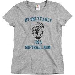 My fault softball mom