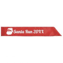 Santa Run 5K Runner