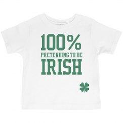 St Patricks Day Kid Irish Tee