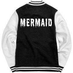 Mermaid Varsity Girl