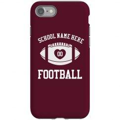 Custom Football Phone Case