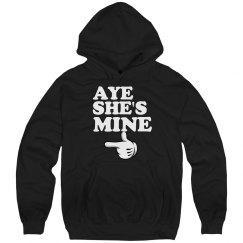Aye She's Mine matching couple
