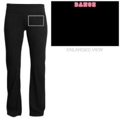 Pink Dance Yoga Pants