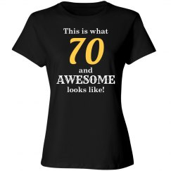 One awesome 70 year old