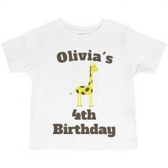 Olivia's 4th birthday