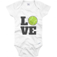 Tennis Baby Loves The Sport