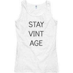 Stay Vintage Tank