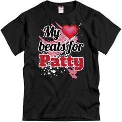 My heart beats for Patty