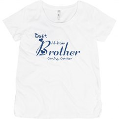 Best all-star brother maternity top