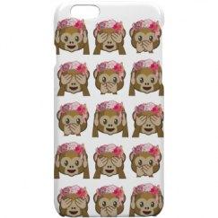 monkey  emoji case collection