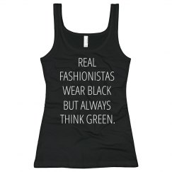 Wear Black Think Green