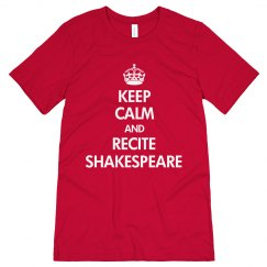 Keep Calm Shakespeare