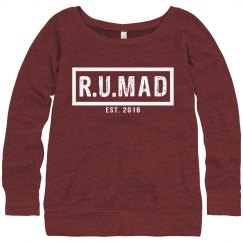 R.U.MAD [ARE YOU MAD] RED