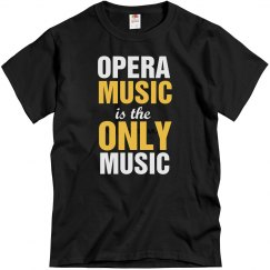 Opera music only music