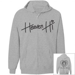 Heaven hi jacket WSH grey