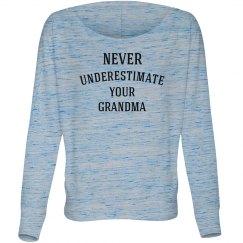 Never underestimate a women