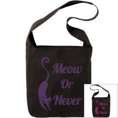 Meow or never bag