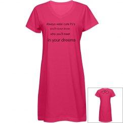 valentine's pyjama