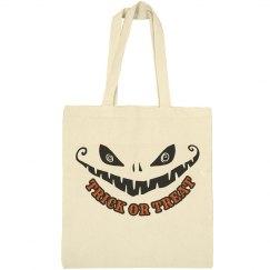 Trick or Treat Halloween Tote Baag