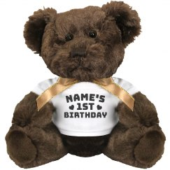 Mikey's Birthday Teddy