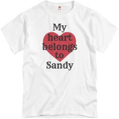My heart belongs to sandy