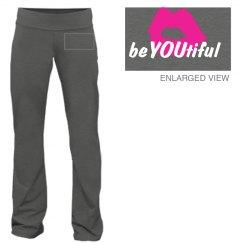 Be You, beYOUtiful yoga pants